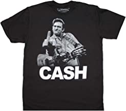 Men's Johnny Cash The Bird T-Shirt