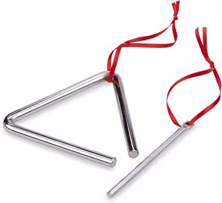 New Classic Toys - 10130 - Musical Toy Instruments - Triangle - Small