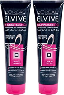 L'Oréal Elvive Arginine Oil Replacement, 300 ml (Pack of 2)