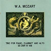 Mozart - Trio for piano, clarinet & alto Es-dur KV 498