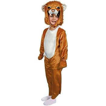 Bada Bing Kinderkostüm Löwe Lion Zoo Small ca. 80cm Karneval Verkleiden