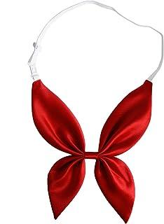Elibelle Adjustable Pre Tied Bowties Necktie for Women Men