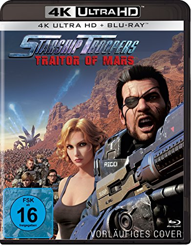 Starship Troopers: Traitor of Mars (4K Ultra HD BD-1) [Blu-ray]