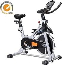 YOSUDA Indoor Cycling Bike Stationary - Cycle Bike with Ipad Mount & Comfortable Seat Cushion (Gray)