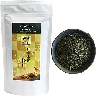 Zen no Megumi Organic Japanese tea Gyokuro leaves green tea Kakegawa Made in Shizuoka Japan (3.53oz (100g))