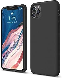 Elago Silicone Case for iPhone 11 Pro Max,Black, 8809667658942