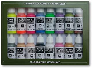 Vallejo Model Color Wargames Special Acrylic Paint Set - Assorted Colours (Pack of 16)