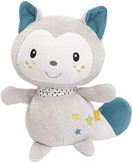 FEHN 057065 Kuscheltier Katze XL / Spielgefährte, Beschützer & Kuschelfreund: Großes Stofftier zum Greifen, Fühlen und Knuddeln, für Babys und Kleinkinder ab 0 Monaten