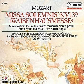 """Mozart: Missa Solemnis, K. 139, """"Waisenhausmesse"""""""