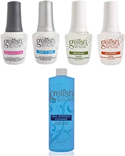 Gelish Fantastic Four Gel Polish Essentials Kit + Gelish Nail Surface Cleanser