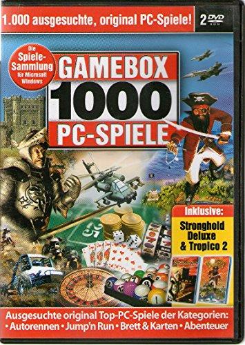 Spielesammlung - Gamebox 1000 PC Spiele