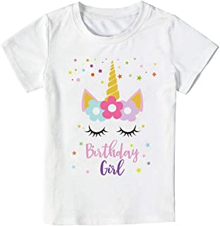 Best unicorn happy birthday shirt Reviews