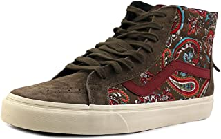 Vans Sk8-Hi Zip Ca Ankle-High Canvas Fashion Sneaker
