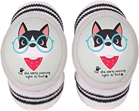 JTKENS Baby Knee Pads for Crawling, Anti-Slip and Soft Thick Pads Protect Elbows and Leg For Boys & Girls 2 Pairs