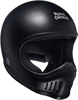 Royal Enfield Matt Black Full Face Helmet Size (L)60 CM (RRGHEH000059)