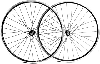 Stay-Tru Matrix 750 700c Road Bike Double Wall AL-6005 Wheelset 8-10 Speed Black QR New