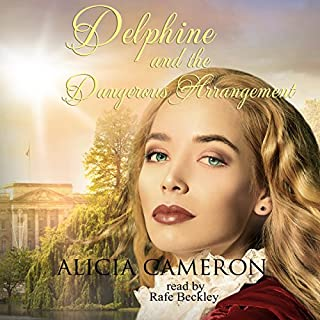Delphine and the Dangerous Arrangement audiobook cover art