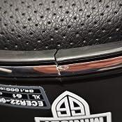 Astone Helmets Minijet 66 Casque Jet Vintage Casque Style Rétro Us Casque De Moto En Polycarbonate Matt Black Auto