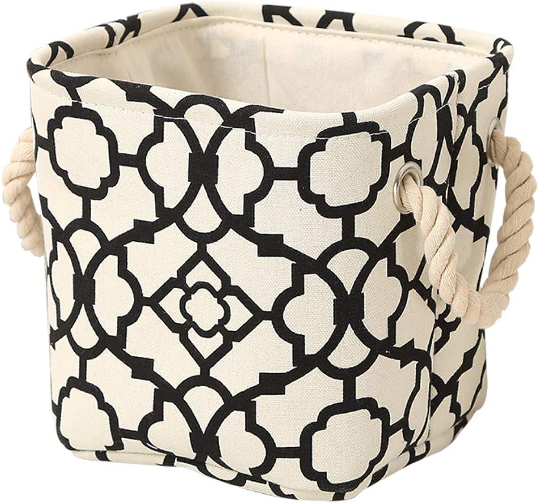 Bedroom Storage Bathroom Storage Basket Cotton Handle Rope ...