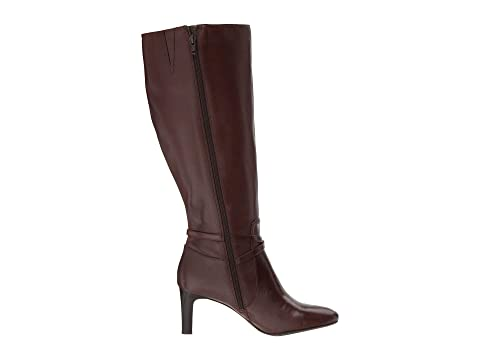 Burnished Burnished Calf Elberta Ralph LAUREN Calf Wide Brown Black Lauren CalfDark wzaIIqY