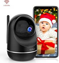 Victure Dualband 2.4Ghz and 5Ghz 1080P WiFi Camera Baby Monitor,FHD Wireless Security..