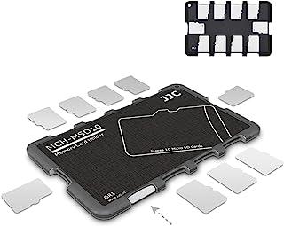 10 Slots Micro SD Card Case Holder Storage Organizer, Ultra Slim Credit Card Size Lightweight Portable TF MSD Memory Card ...