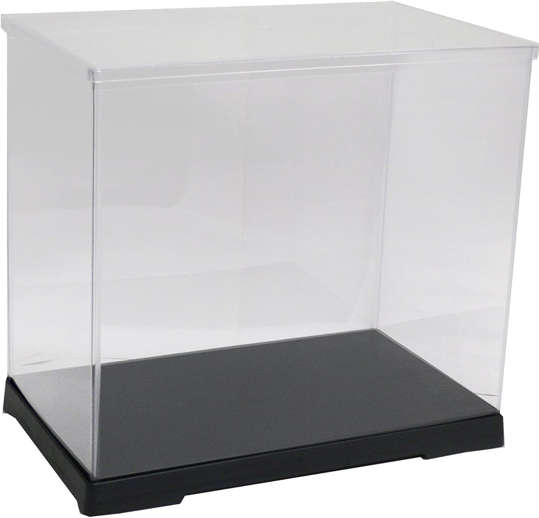 32cm height [transparent case series] collection case horizontal width 40cm x 21cm x depth (japan import)