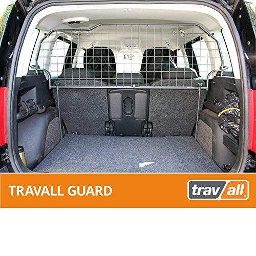 Travall Guard Grilles Pare-Chien Compatible avec Skoda Yeti (2009 et Ulterieur) TDG1248 - Grille de Separation avec Revêtement en Poudre de Nylon