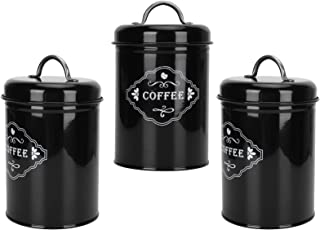 Fournyaa Pot de Stockage de Sucre, Beau Pot de Rangement, Organisateur de Rangement de Cuisine de Haute qualité, boîte de ...