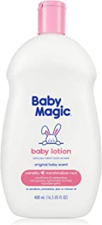 Baby Magic Baby Lotion, Camellia Oil & Marshmallow Root, 16.5oz