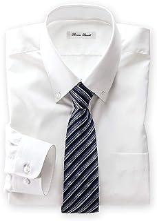 [nissen(ニッセン)] メンズ ワイシャツ 長袖 抗菌防臭 形態安定 ボタンダウン 白 S M L LL 3L