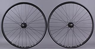 H + Plus Son Archetype Black Rims Track Fixed Gear Bike Wheelset DT Competition