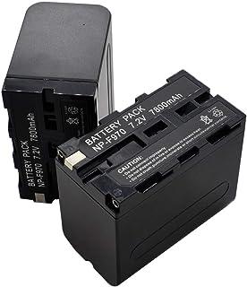 2X 7800mAh Battery Pack for Sony NP-F970 NP-F960 NP-F330 NP-F550 NP-F750 NP-F770 NP-F930 NP-F950 CCD-TRV Camera Camcorder ...