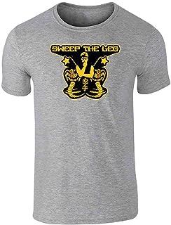 Sweep The Leg Cobra Kai Sensei Karate Kid 80s Graphic Tee T-Shirt for Men
