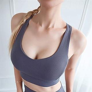 Sports Bra, Women Push Up Seamless Sports Bra Workout Sport Top Crop High Impact Fitness Wear for Yoga Gym Brassiere Tank ...