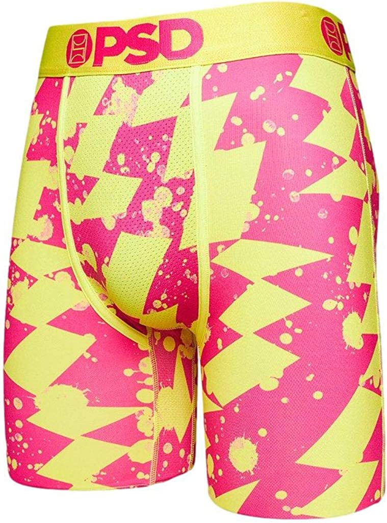 PSD Men's Neon Electric Boxer Brief Underwear