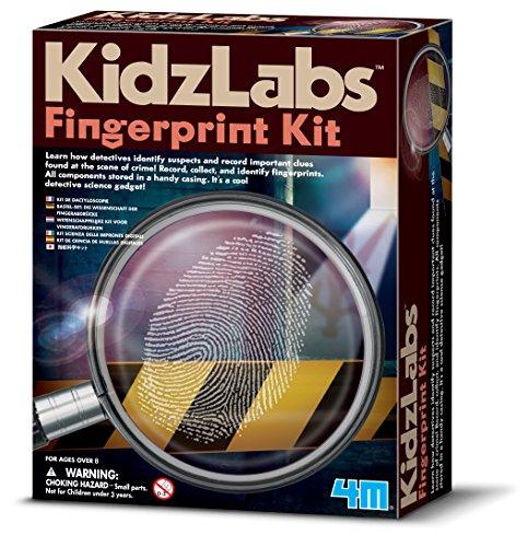4M Great Gizmos Detektiv Science Fingerabdruck-Set