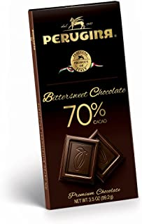 Perugina Bittersweet Chocolate Bar, 70%, 99.2 Gram (Pack of 12)