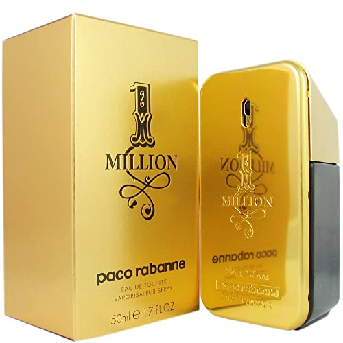 75eefeaef Paco Rabanne One Million Eau de Toilette Spray for men, 1.7 Fluid Ounce