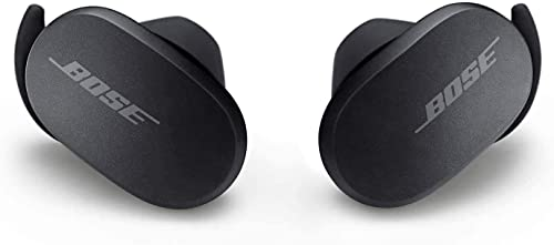 Bose QuietComfort Noise Cancelling Earbuds - Bluetooth Wireless Earphones Triple Black the World's Most Effective Noise Cancelling Earbuds