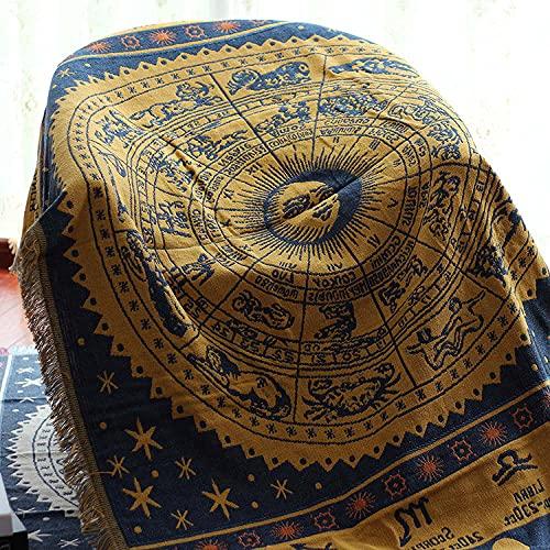 haoyunlai Housse de fauteuil en tricot pour maison européenne 230 x 250 cm