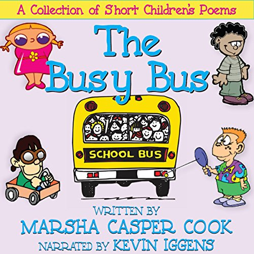 The Busy Bus audiobook cover art