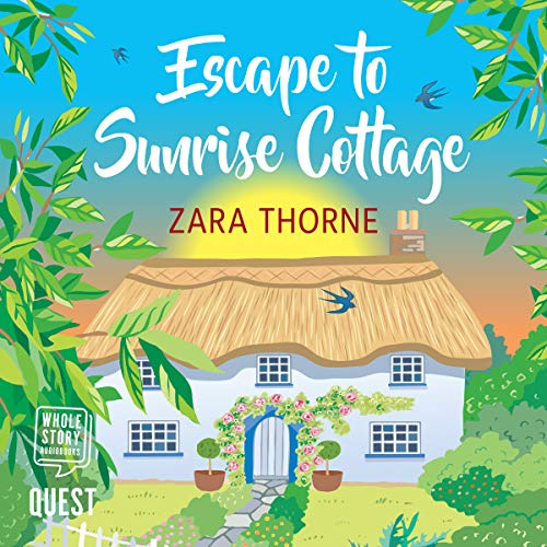 Escape to Sunrise Cottage audiobook cover art