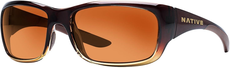 Native Eyewear Unisex Kannah Stout Fade Brown