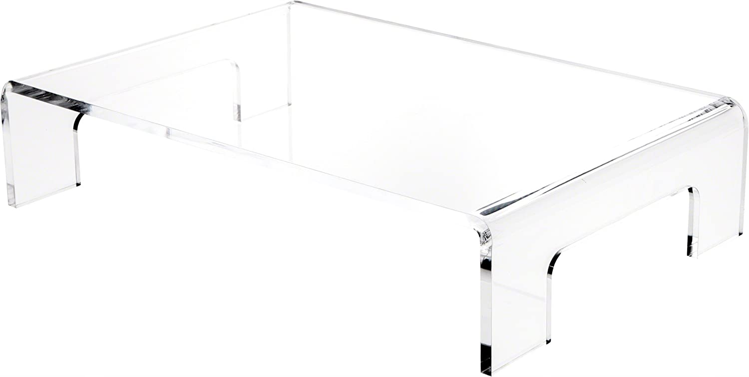 Plymor Clear Acrylic Display Riser with Max 42% OFF 4