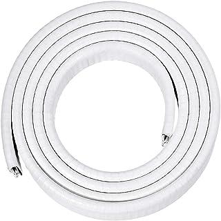 uxcell Edge Trim U Seal Extrusion White U Channel Edge Protector PVC Plastic W Iron Sheet Fits 1/64``-5/32`` Edge 6.56Ft/2M Length