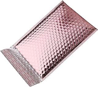 rongweiwang 10 st aluminiumfolie bubbla försändelse skala poly vadderade kuvert tätning poly vadderade kuvert ömtåligt för...