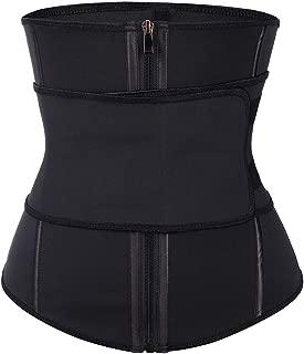FEDNON Women's Workout Waist Trainer Cincher Corset Slimming Sauna Sweat Belt Underbust Sport Girdle Body Shaper