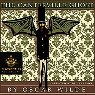 The Canterville Ghost [Classic Tales Edition]                   By:                                                                                                                                 Oscar Wilde                               Narrated by:                                                                                                                                 B. J. Harrison                      Length: 1 hr and 12 mins     493 ratings     Overall 4.5