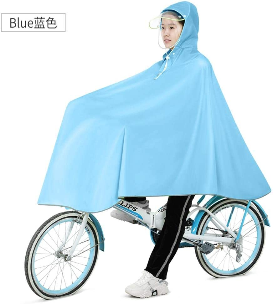 ZWYM Waterproof Bicycle Scooter Raincoat Jacket Travel Hiking Overall Raincoat Outdoor Stylish -B_XXXLAbrigos Impermeables